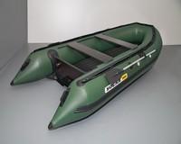 """Лодка надувная транц. """"СОЛАР-380 JET"""""""