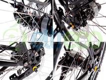 Велогибрид Eltreco PATROL 26 NEXUS 3 ROLLER