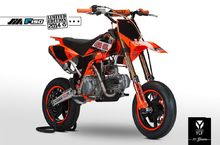 ПИТБАЙК YCF FACTORY SPIII SM 14/12 ,190CC LUCAS OIL LIMITED EDITION 2015Г.