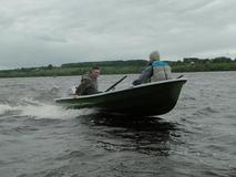 Лодка АФАЛИНА-380 с булями